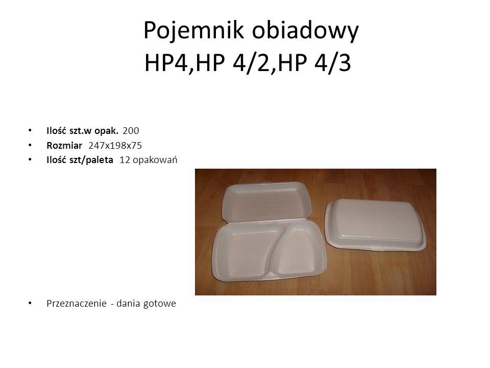 Pojemnik obiadowy HP4,HP 4/2,HP 4/3