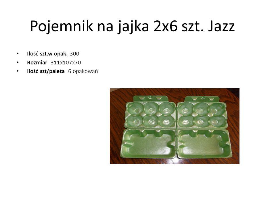 Pojemnik na jajka 2x6 szt. Jazz