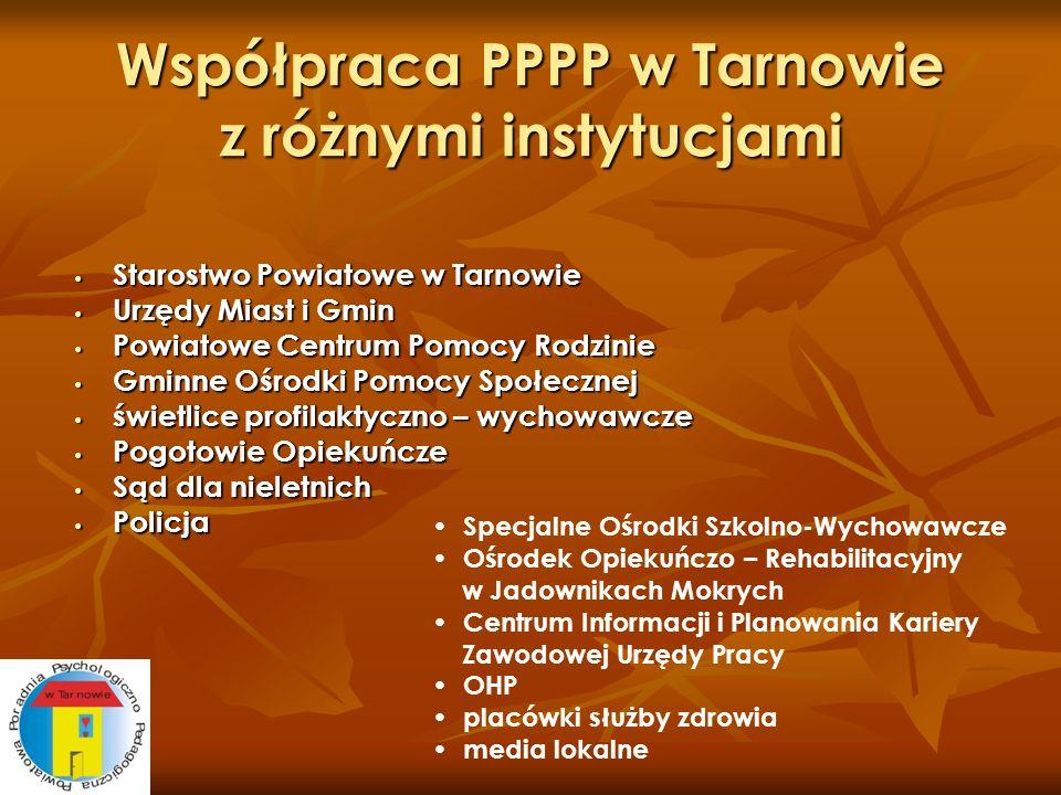 Współpraca PPPP w Tarnowie z różnymi instytucjami