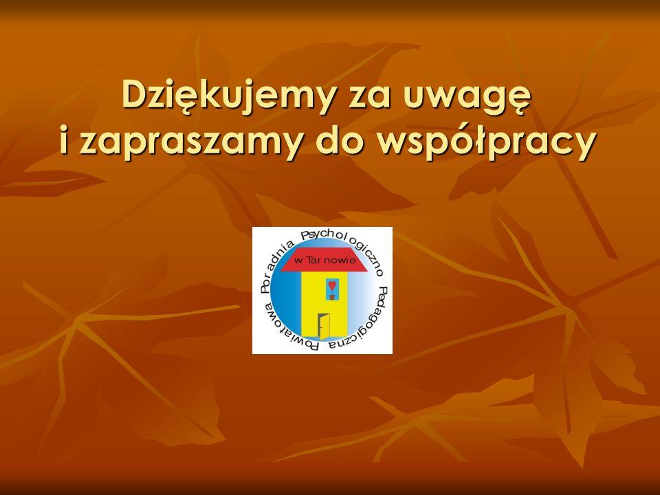 Dziękujemy za uwagę i zapraszamy do współpracy