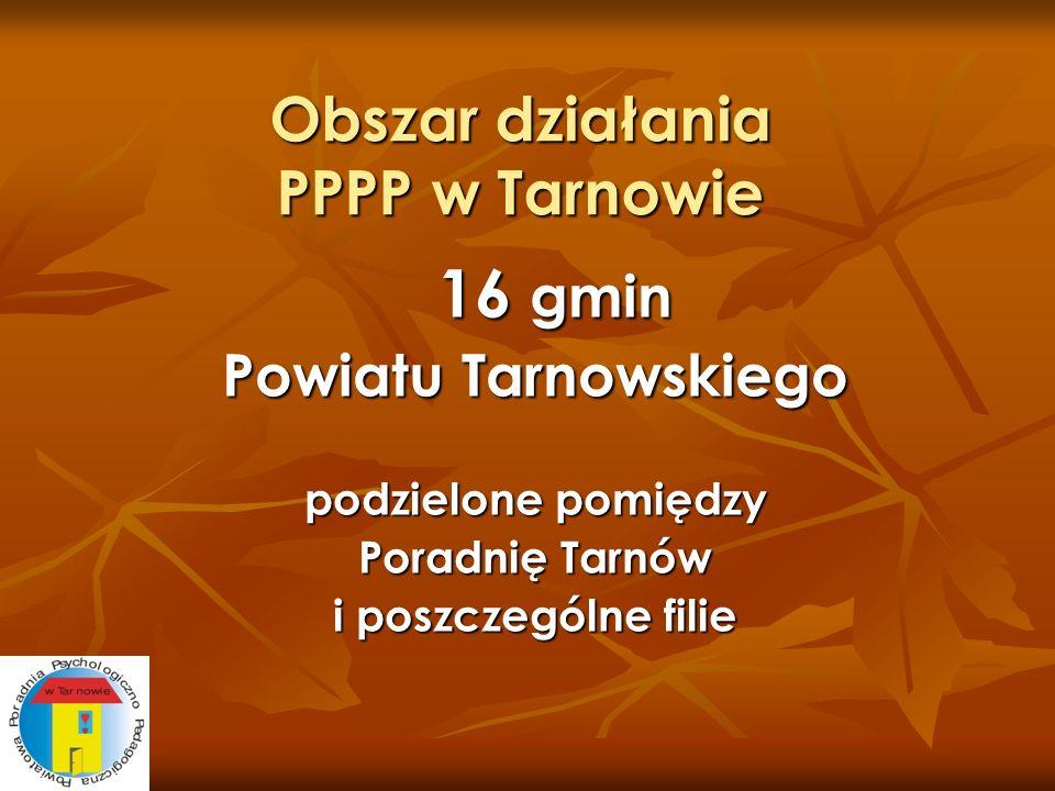 Obszar działania PPPP w Tarnowie