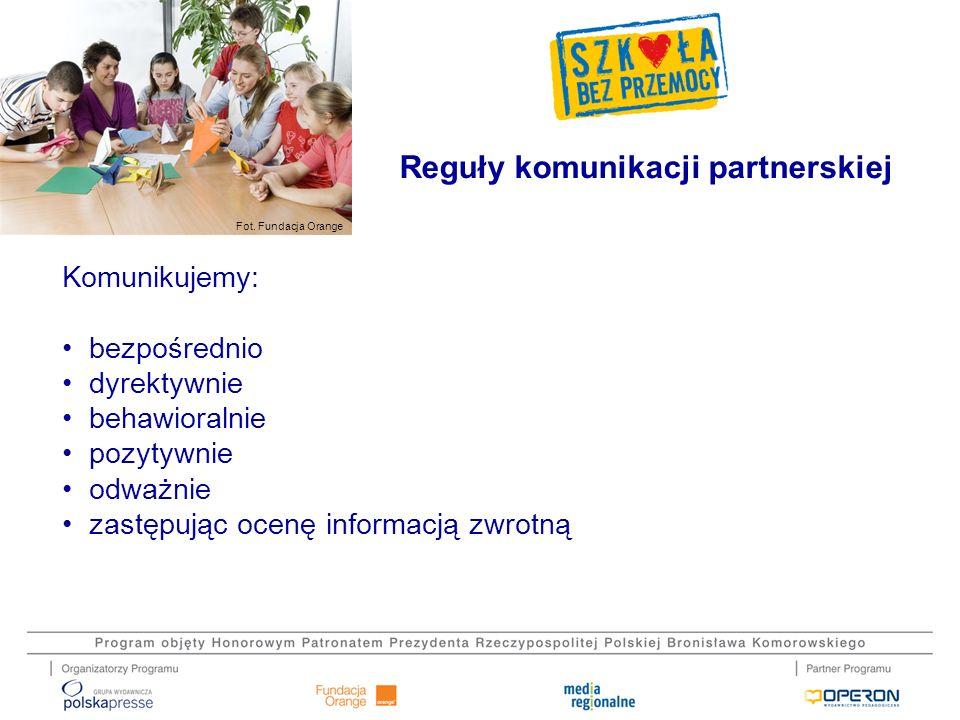 Reguły komunikacji partnerskiej