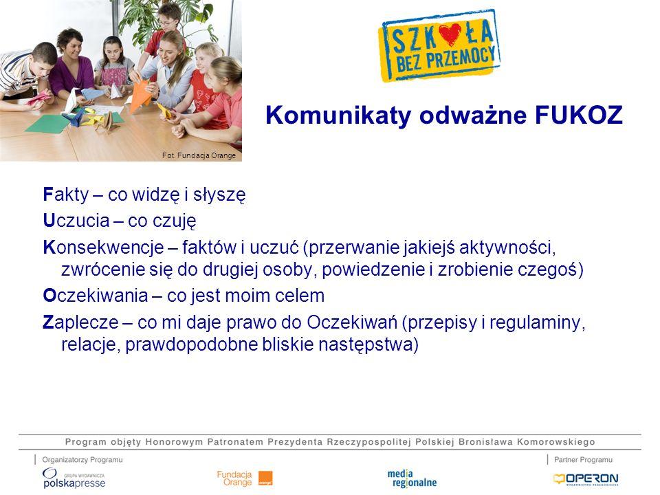 Komunikaty odważne FUKOZ