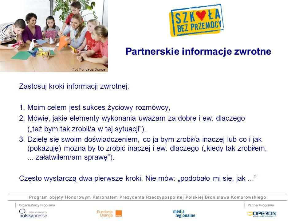 Partnerskie informacje zwrotne