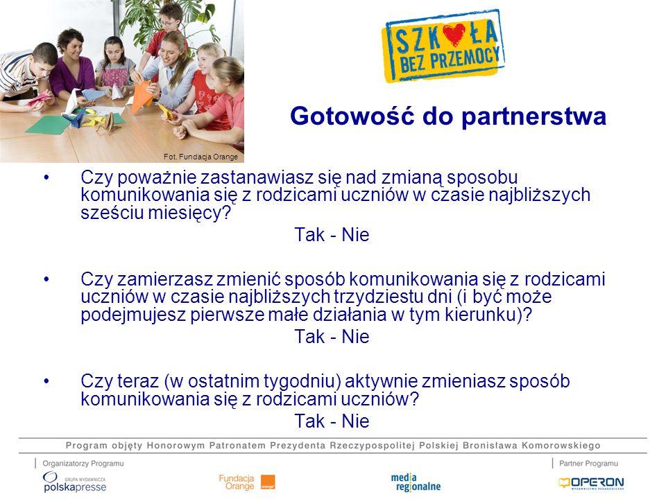 Gotowość do partnerstwa