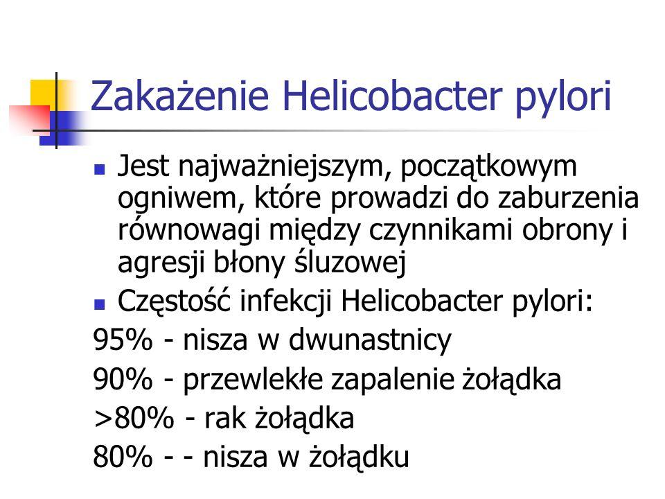 Zakażenie Helicobacter pylori