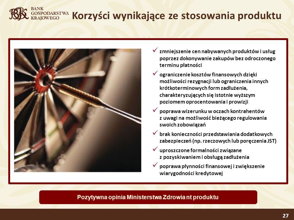 Pozytywna opinia Ministerstwa Zdrowia nt produktu
