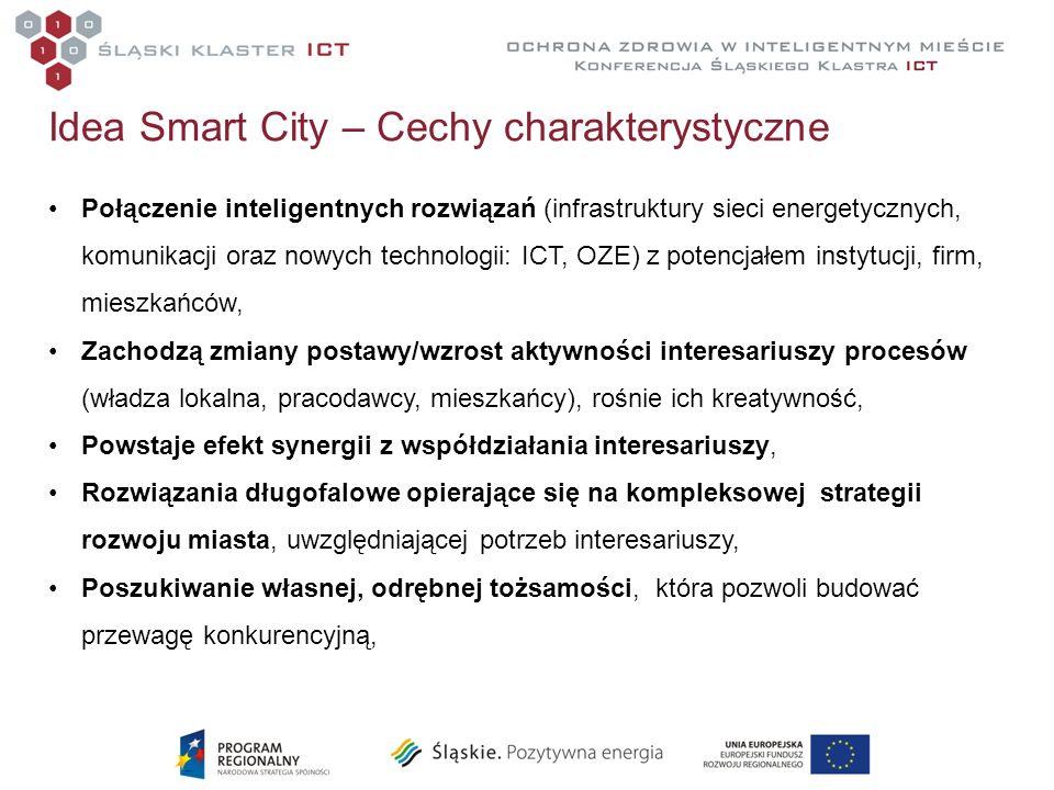 Idea Smart City – Cechy charakterystyczne