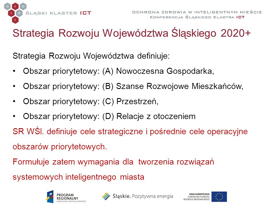 Strategia Rozwoju Województwa Śląskiego 2020+