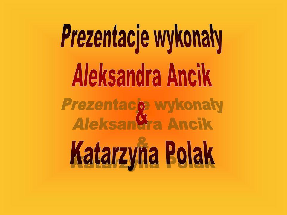 Prezentacje wykonały Aleksandra Ancik & Katarzyna Polak