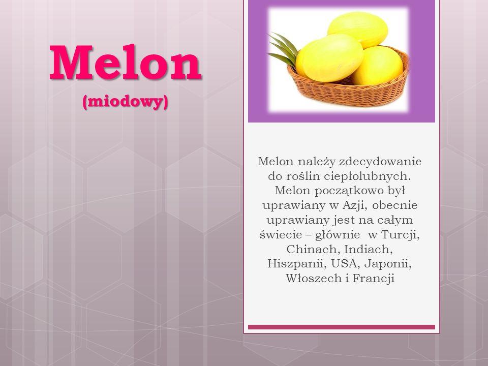 Melon (miodowy)