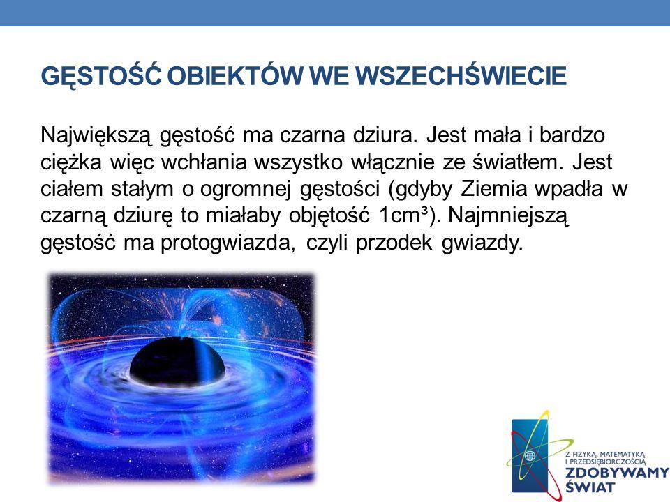 Gęstość obiektów we wszechświecie