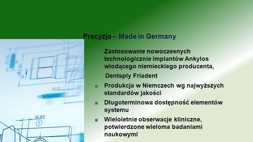 Precyzja – Made in Germany