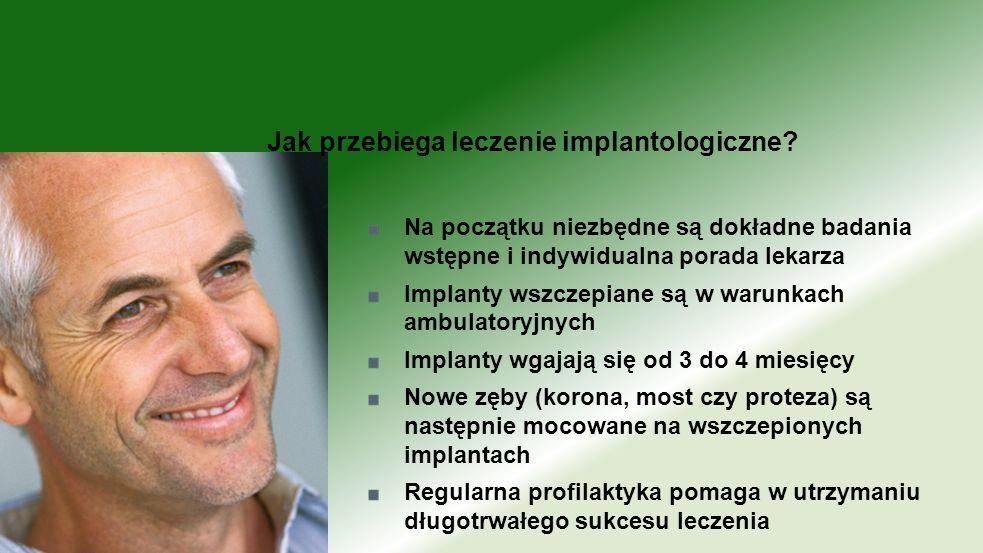 Jak przebiega leczenie implantologiczne