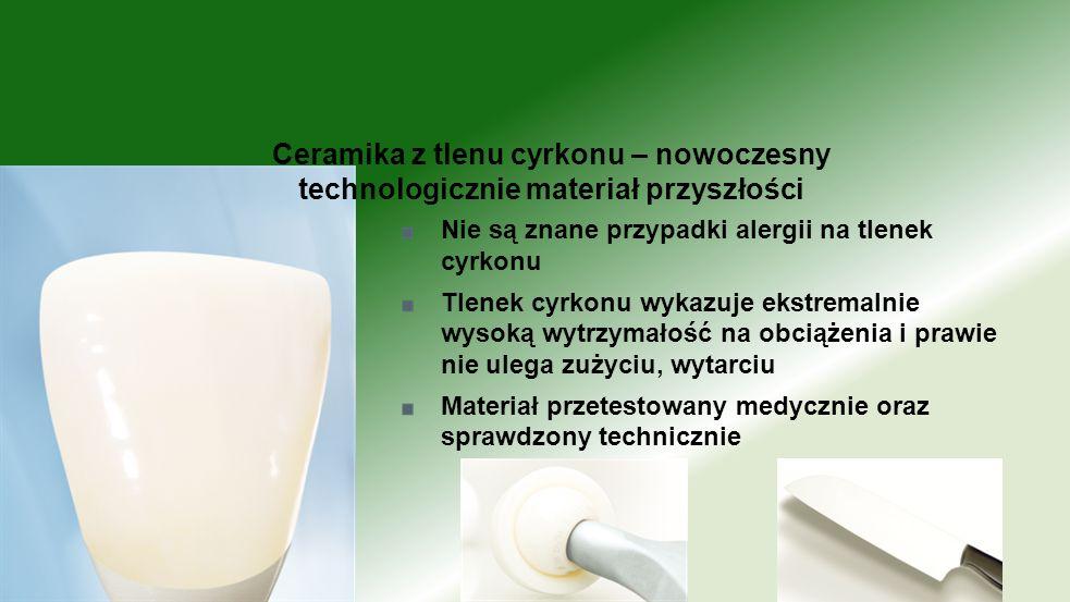 Ceramika z tlenu cyrkonu – nowoczesny technologicznie materiał przyszłości
