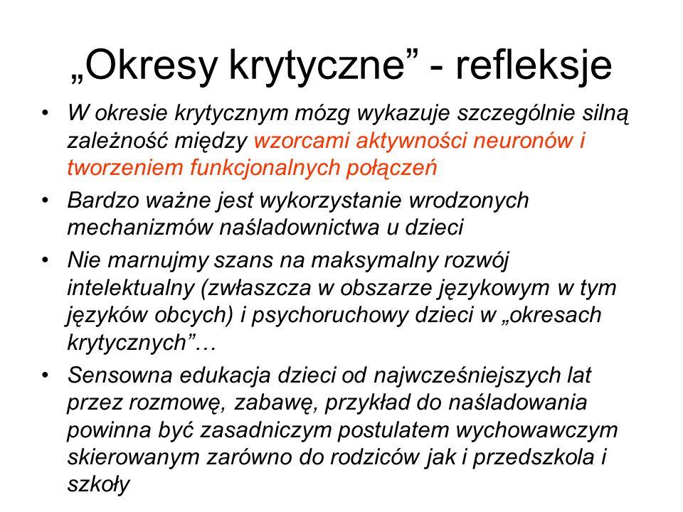 """""""Okresy krytyczne - refleksje"""