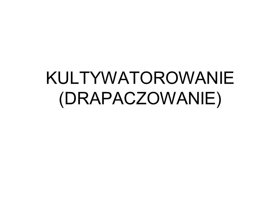 KULTYWATOROWANIE (DRAPACZOWANIE)