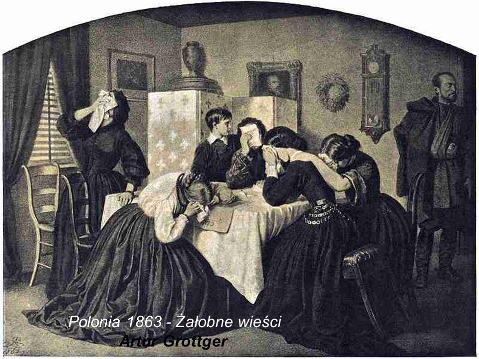 Polonia 1863 - Żałobne wieści