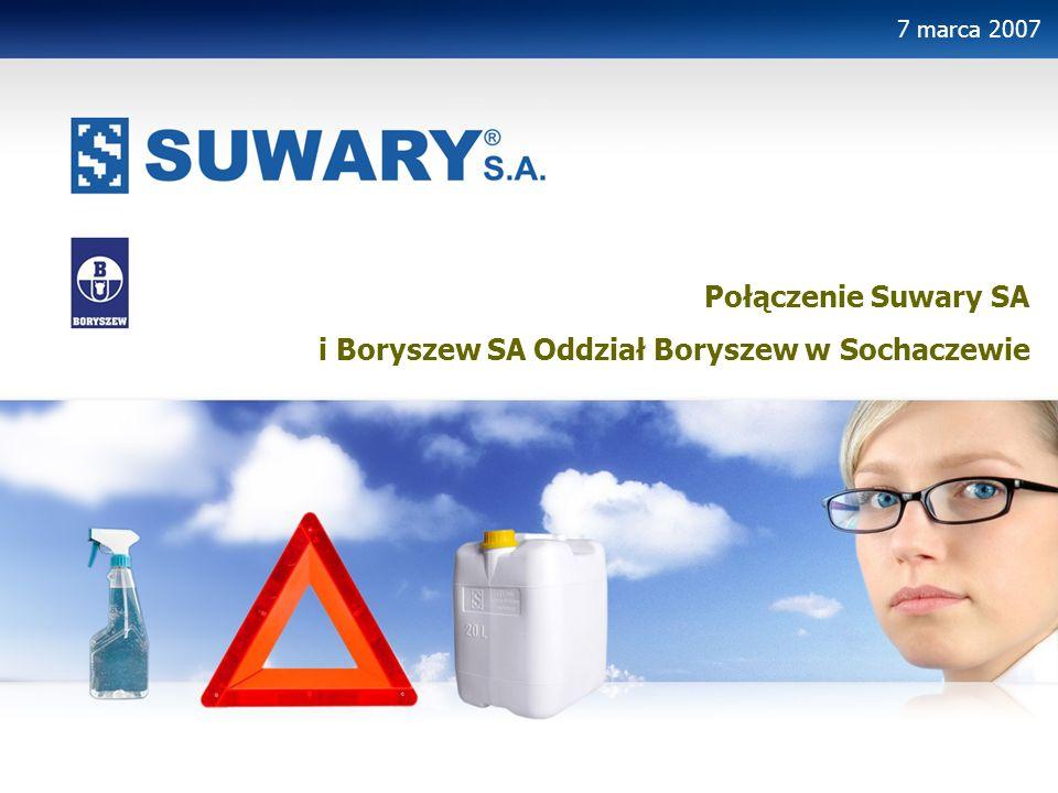 i Boryszew SA Oddział Boryszew w Sochaczewie
