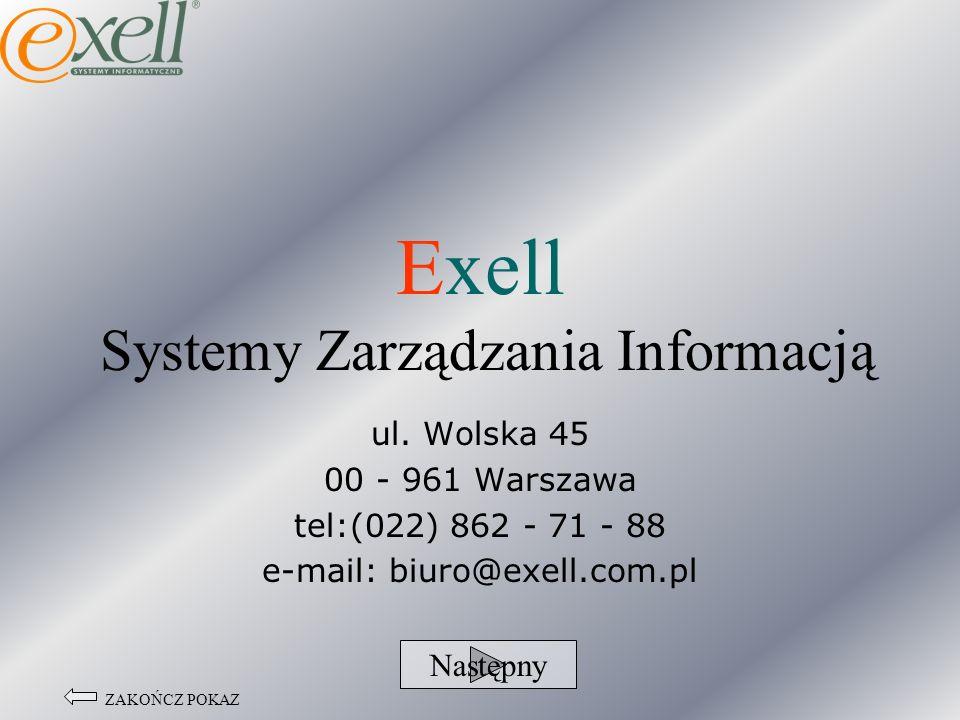 Exell Systemy Zarządzania Informacją