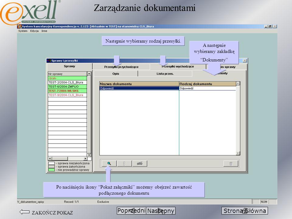 Zarządzanie dokumentami