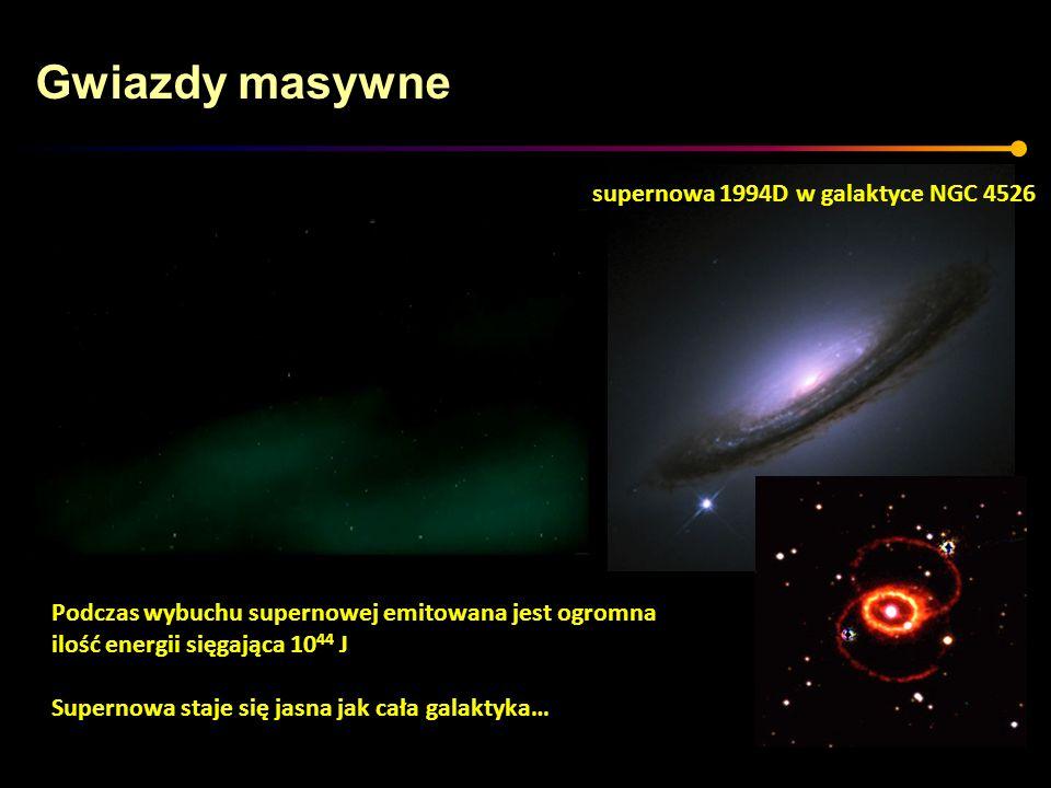 Gwiazdy masywne supernowa 1994D w galaktyce NGC 4526