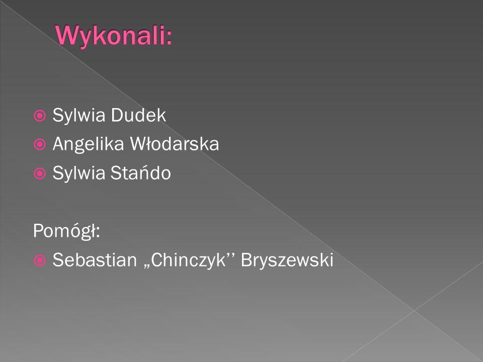 Wykonali: Sylwia Dudek Angelika Włodarska Sylwia Stańdo Pomógł:
