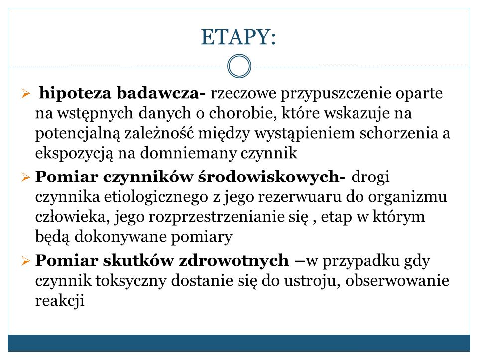 ETAPY:
