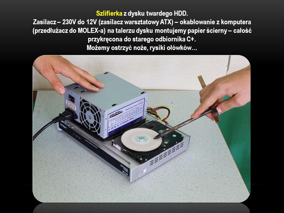 Szlifierka z dysku twardego HDD