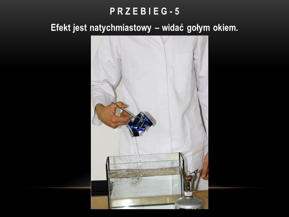 P R Z E B I E G - 5 Efekt jest natychmiastowy – widać gołym okiem.