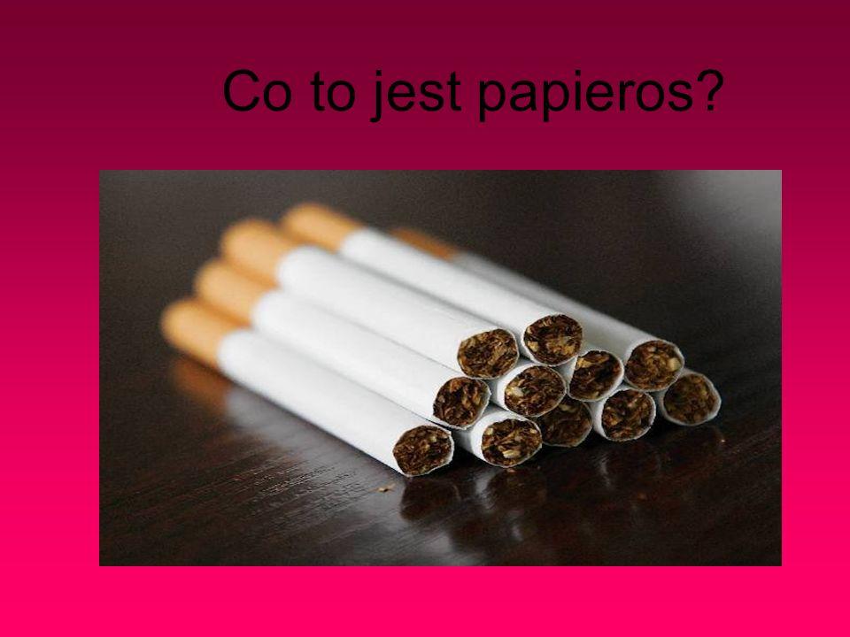 Co to jest papieros