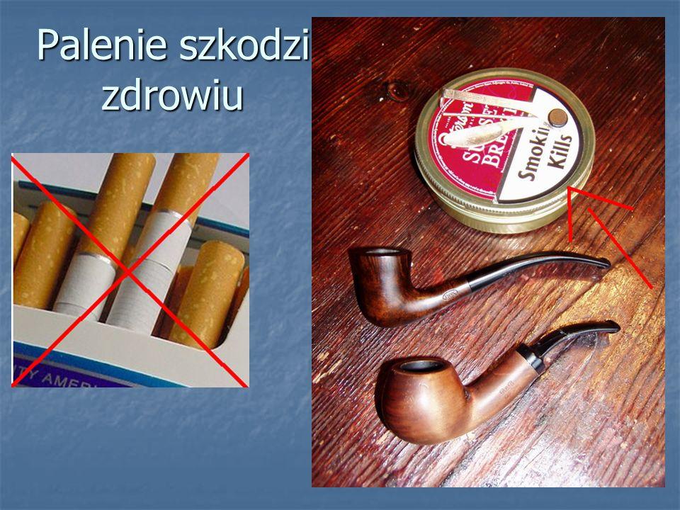 Palenie szkodzi zdrowiu