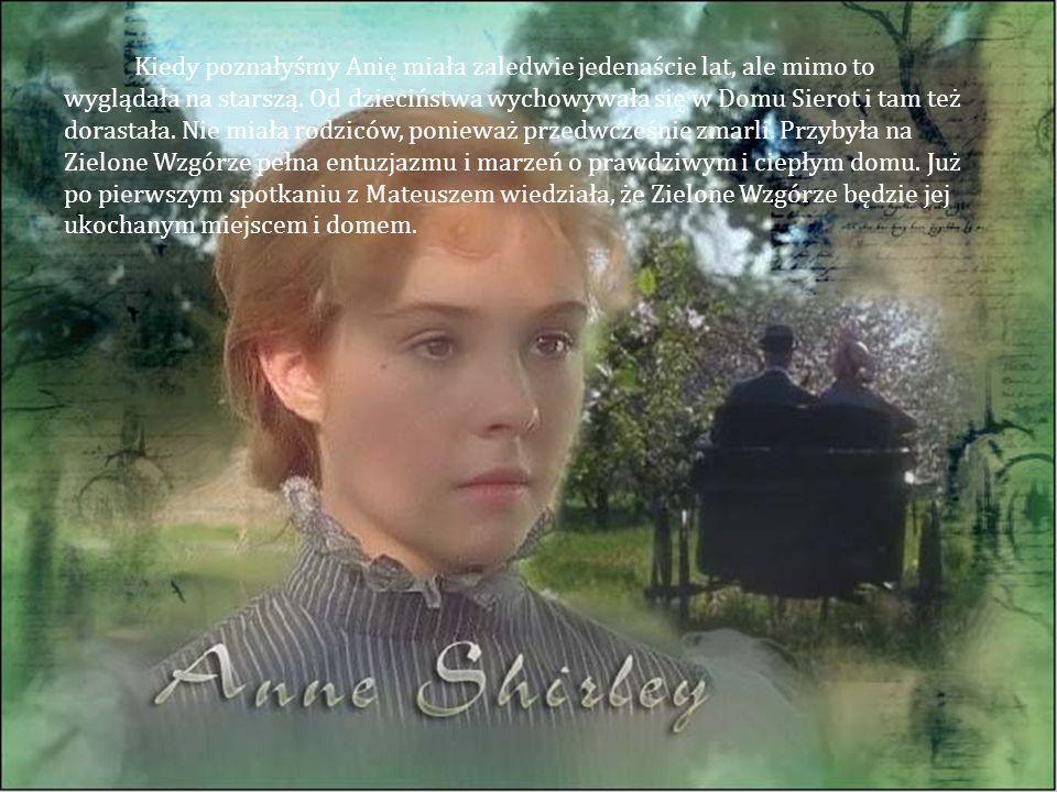 Kiedy poznałyśmy Anię miała zaledwie jedenaście lat, ale mimo to wyglądała na starszą.