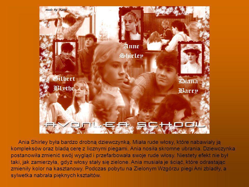 Ania Shirley była bardzo drobną dziewczynką