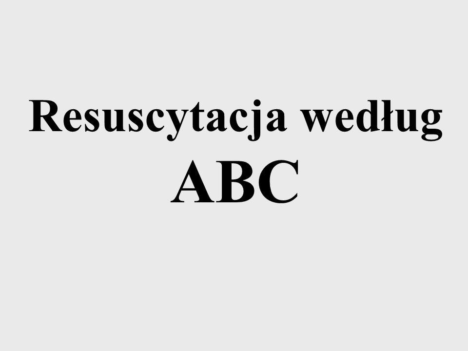 Resuscytacja według ABC