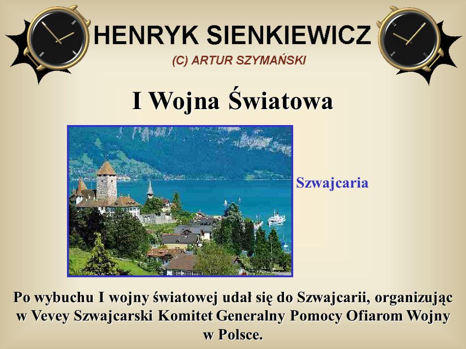 I Wojna Światowa Szwajcaria