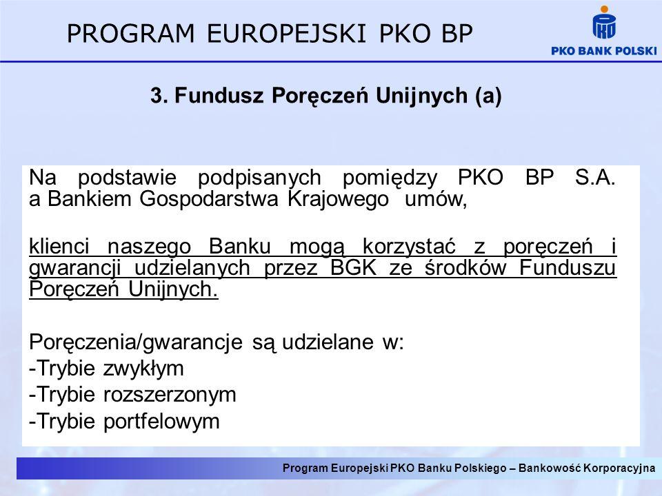 3. Fundusz Poręczeń Unijnych (a)
