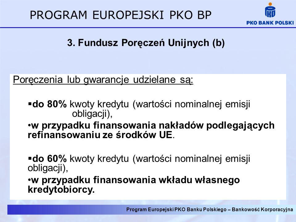 3. Fundusz Poręczeń Unijnych (b)