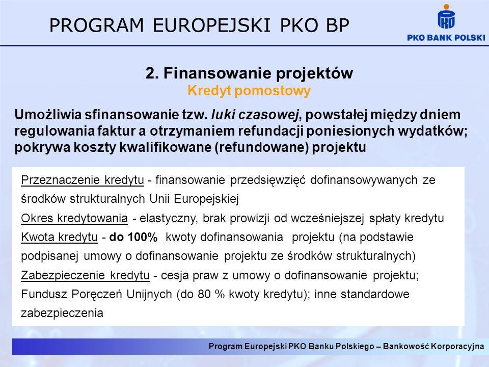 2. Finansowanie projektów