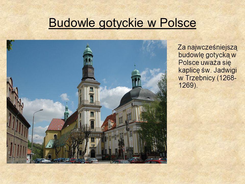 Budowle gotyckie w Polsce