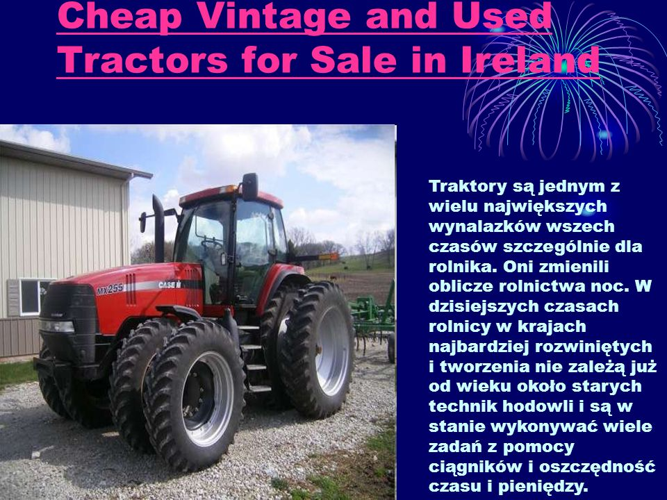 Cheap Vintage and Used Tractors for Sale in Ireland