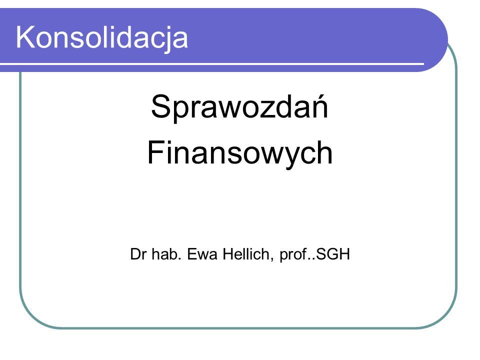 Dr hab. Ewa Hellich, prof..SGH