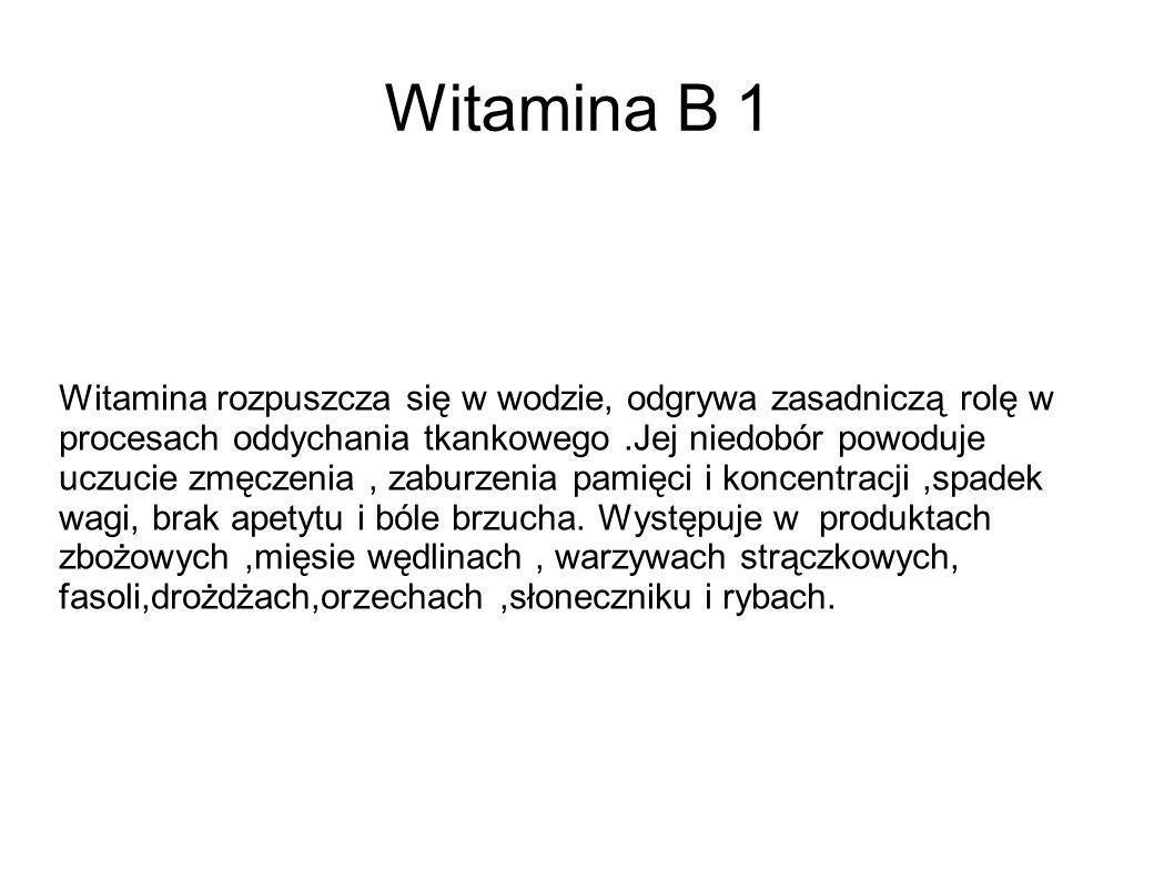 Witamina B 1