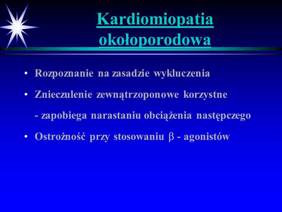 Kardiomiopatia okołoporodowa