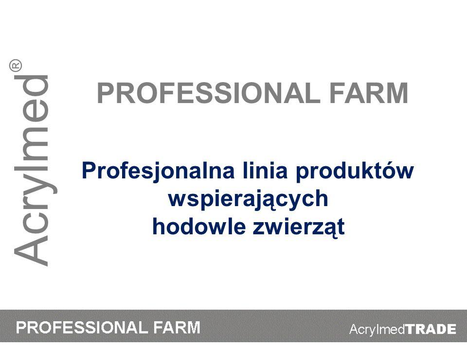 Profesjonalna linia produktów wspierających