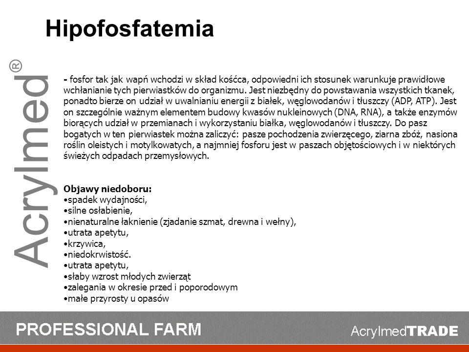 Acrylmed® Hipofosfatemia