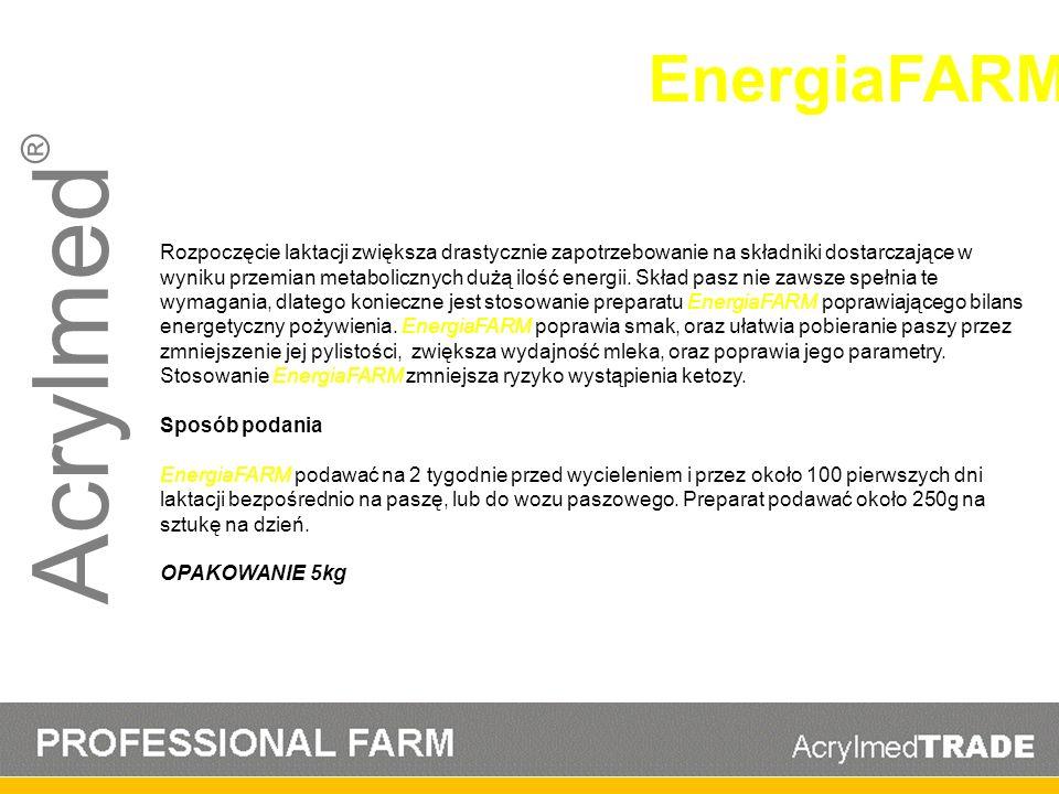Acrylmed® EnergiaFARM