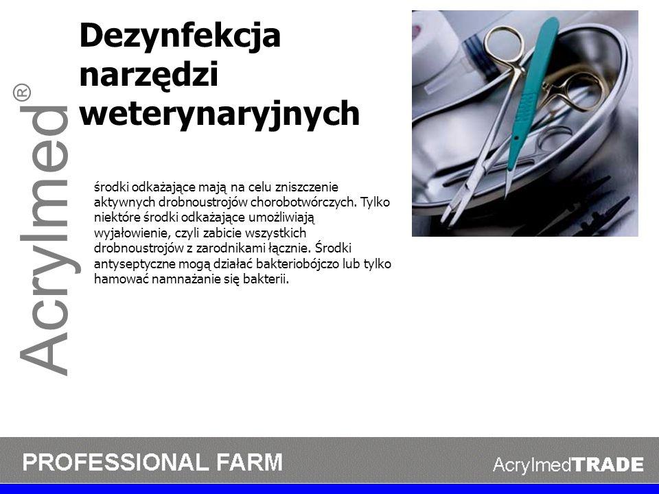 Acrylmed® Dezynfekcja narzędzi weterynaryjnych