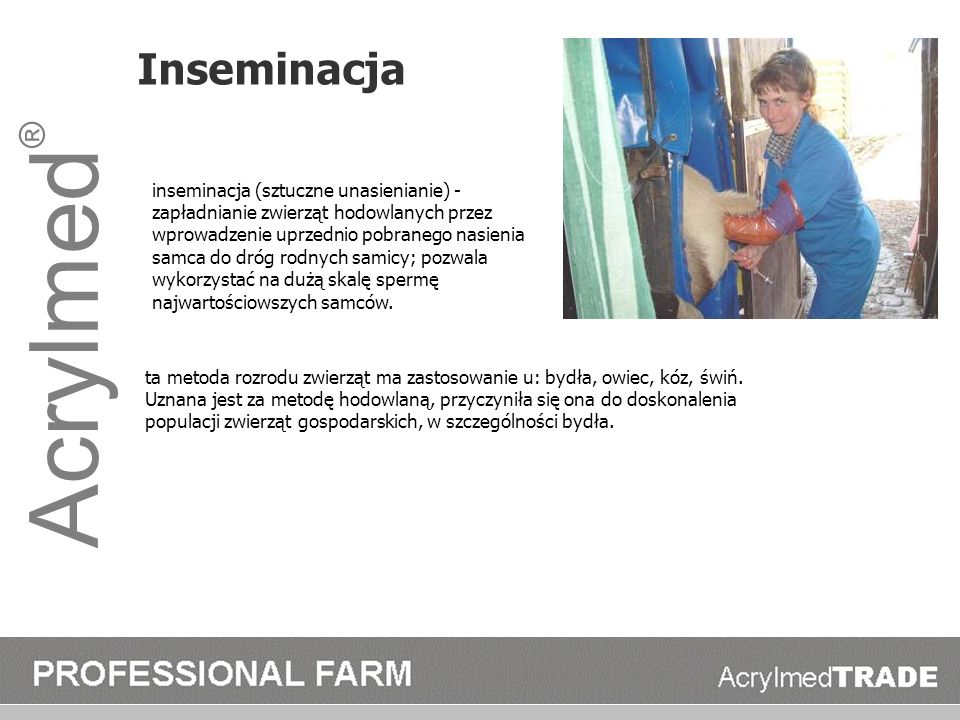 Acrylmed® Inseminacja