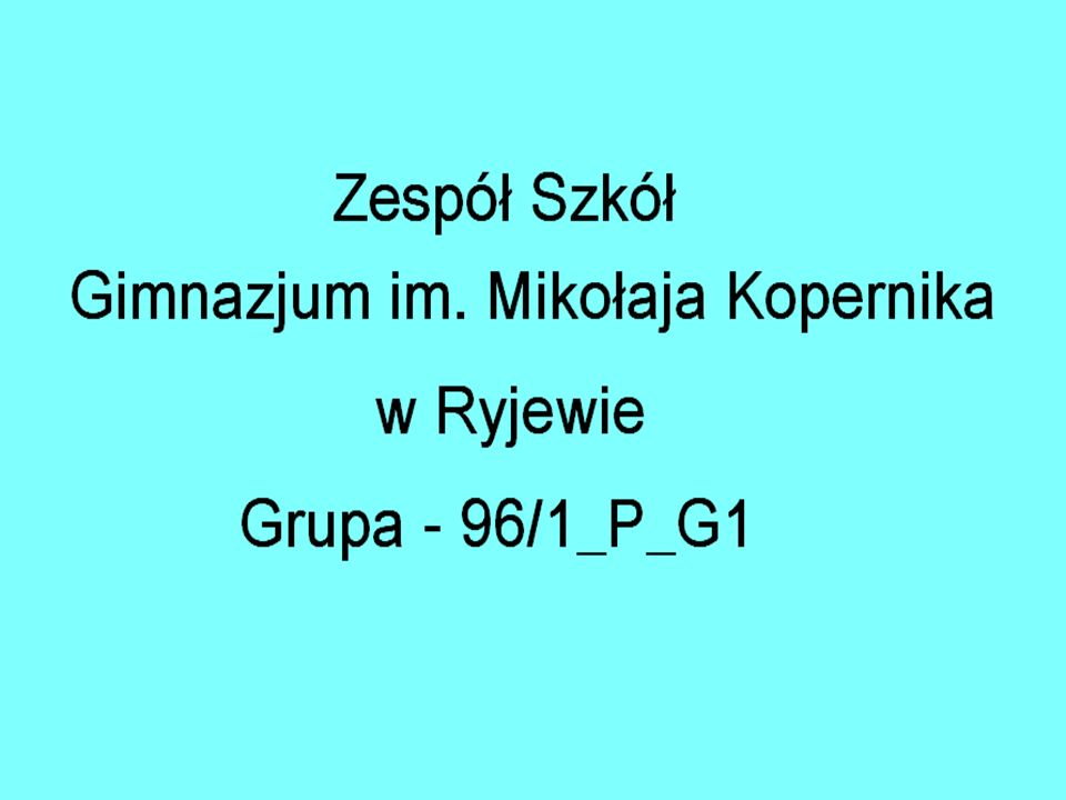 Opiekunka naszej grupy : Pani Teresa Ruszczak